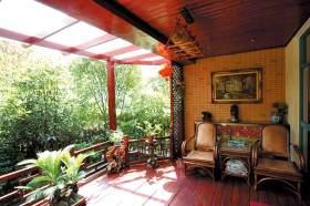 东南亚风格阳台设计欣赏