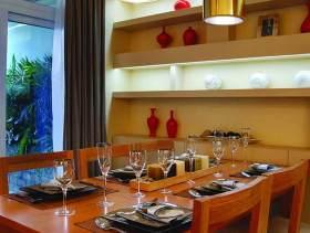中式餐厅装修效果案例