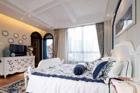 地中海风清新卧室装修案例