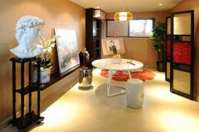 2015中式艺术室装修欣赏
