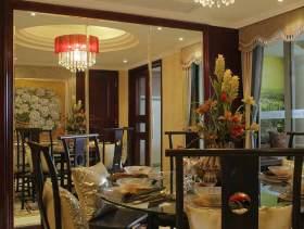 中式餐厅华美装潢