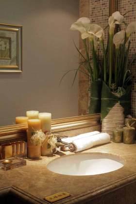 中式唯美风格卫生间装修欣赏