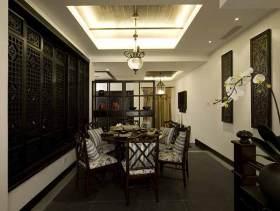 中式餐厅装修设计欣赏
