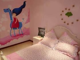 欧式风格极致甜美儿童房设计效果图