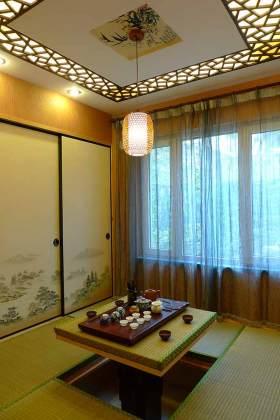中式榻榻米文艺装潢图片