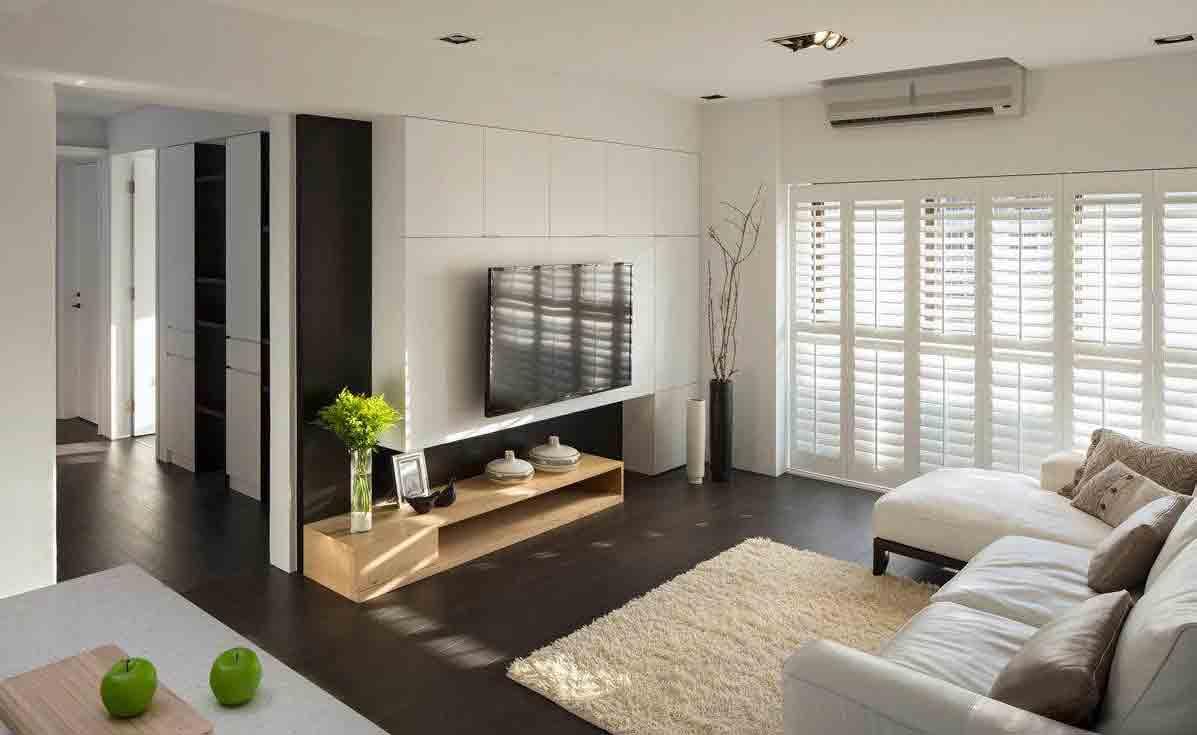 简约小户型客厅装修效果图片