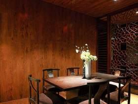 2016中式古典风韵餐厅装潢图片
