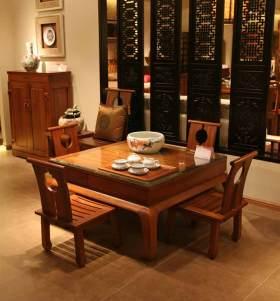 中式茶室装修效果欣赏