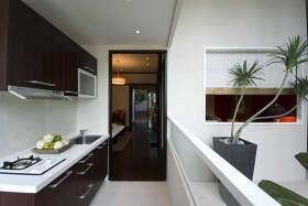 中式实用简明厨房装修案例