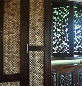中式风格衣柜装修案例