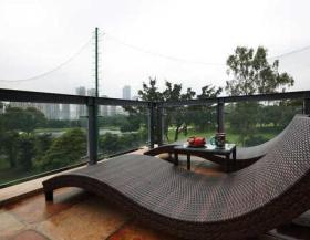 东南亚风格闲适阳台装修欣赏