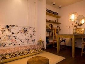 小户型中式餐厅精致装修设计