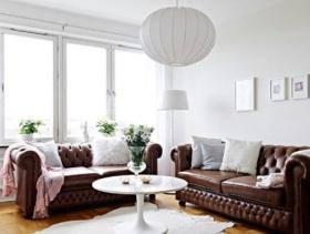 简约风格别致小户型客厅装修案例