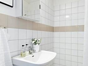 小户型卫生间简约设计欣赏