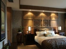 2016中式卧室大气装修效果图