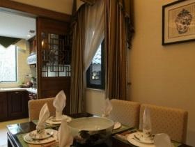 中式雅致设计餐厅装修欣赏