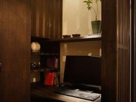 2016简约日式风格二居室书房设计效果图