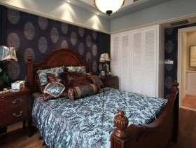 2016美式深沉优雅卧室装潢设计