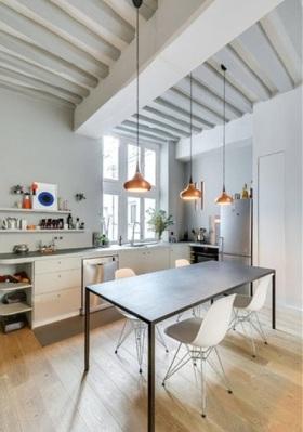 工业简约风格设计厨房装潢欣赏
