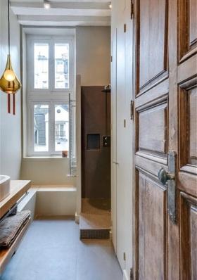 简约风格工业设计卫生间装潢案例