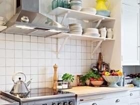 简约精致实用厨房装修效果图