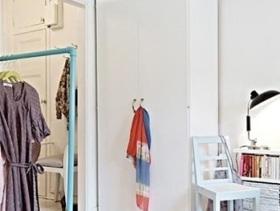 简约设计小户型实用衣柜装修案例