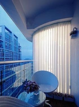 欧式浪漫阳台装修案例欣赏
