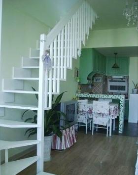 田园风格楼梯整体装修效果图