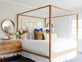 舒适温馨简约风卧室设计效果图