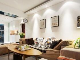 简约风格二居客厅装潢
