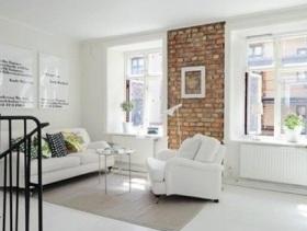 简约风格复式客厅装修效果图
