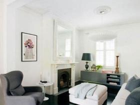简约风小户型客厅大方装修案例欣赏