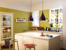 简约时尚设计小户型厨房效果图