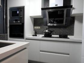 层次鲜明简约风厨房装修设计