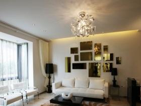 简约风格小户型客厅大气装修案例