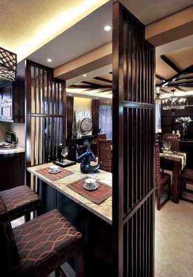 异域东南亚吧台设计效果图