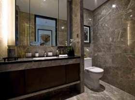 中式风格简明利落卫生间规划装潢设计