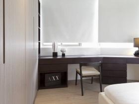 2016极简中式风格卧室局部设计效果