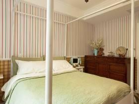 新古典怀旧风温馨卧室装潢欣赏