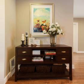 中式木质橱柜设计图