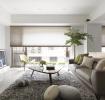现代简洁大方客厅装修效果图