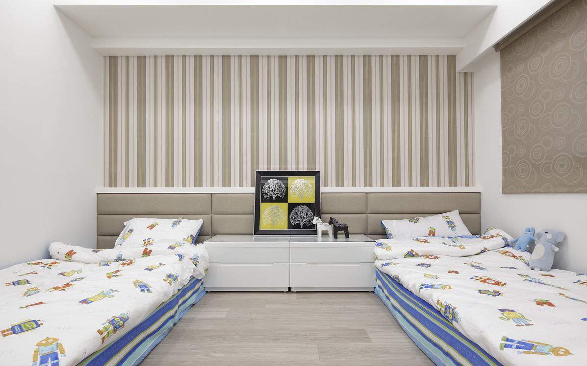 现代小清新卧室装潢设计