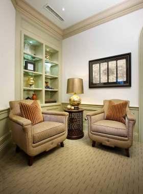 美式舒适客厅装修设计