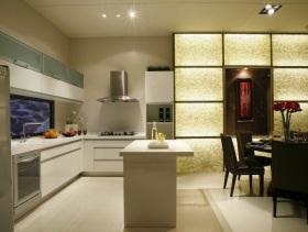 白色简约厨房装潢