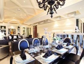 新古典华丽餐厅装修装饰