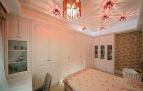 新古典粉色儿童房装修装饰