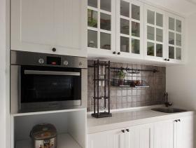 简约白色纯洁厨房装修布置