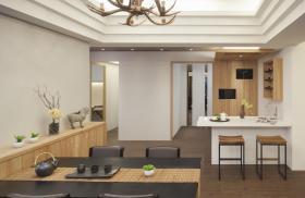 原木风餐厅舒适设计