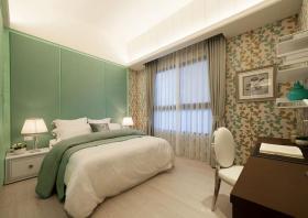 新古典风格清新嫩绿色儿童房装修欣赏