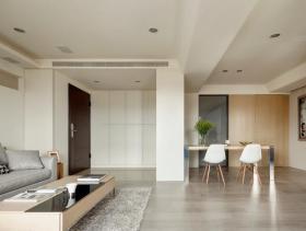 简约风格二居室客厅装修实例图片